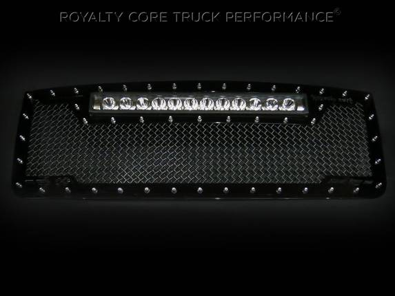 Royalty Core - GMC Sierra HD 2007-10 RC1X With XPI-12M in Top of Grille