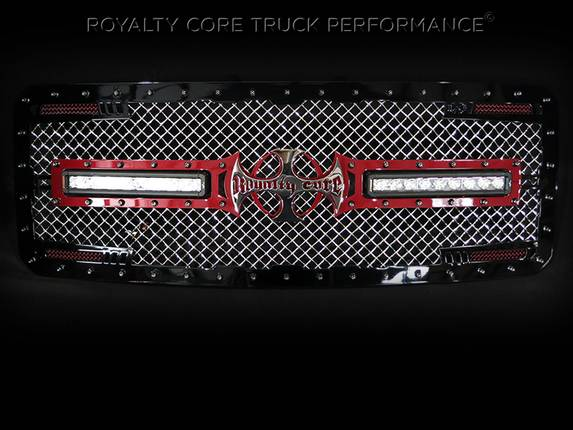 Royalty Core - 2014 Ford F-350 Custom LED Grille