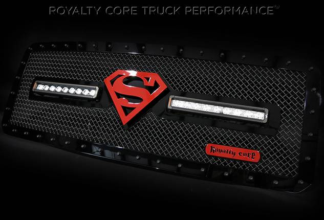 Royalty Core - 2015 Ford Superduty RC1X with Superman Logo