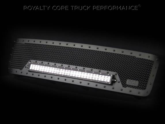 Royalty Core - 2011-2014 Chevy HD RC1X LED Grille