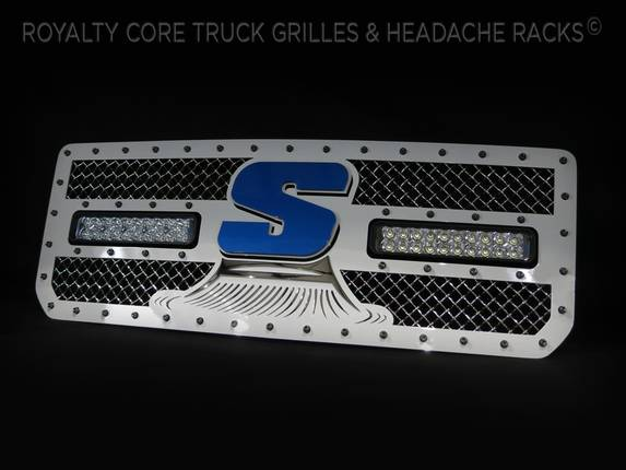 Royalty Core - GMC Denail HD 2015 2016 Custom RC2X Sweeper Grille
