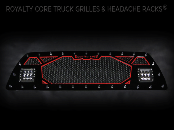 Royalty Core - 2007 Toyota Tacoma Custom 2 Part LED Grille