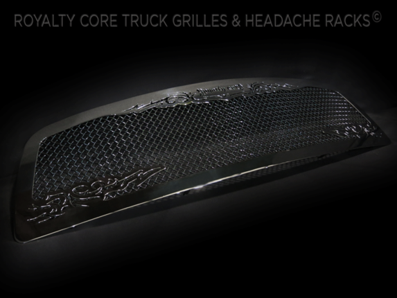 Royalty Core - 2009-2012 Ram 1500 RC1 Chrome with Scroll Work