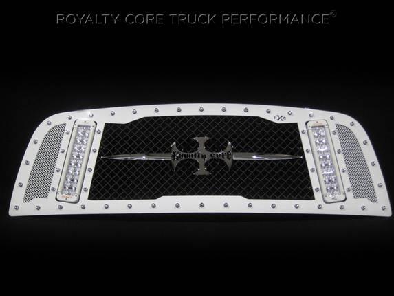 Royalty Core - 2013 Ram RCX Custom White