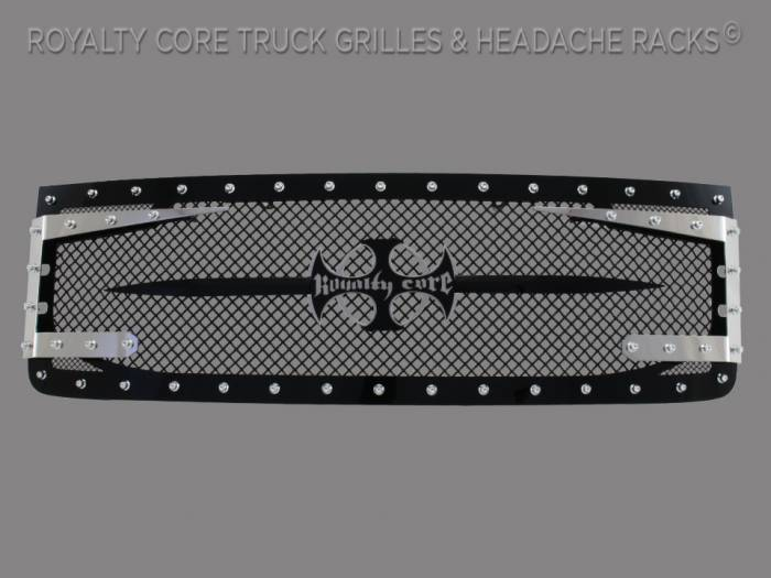 Royalty Core - GMCSierraHD 2500/3500 2011-2014 RC3DX Innovative Grille