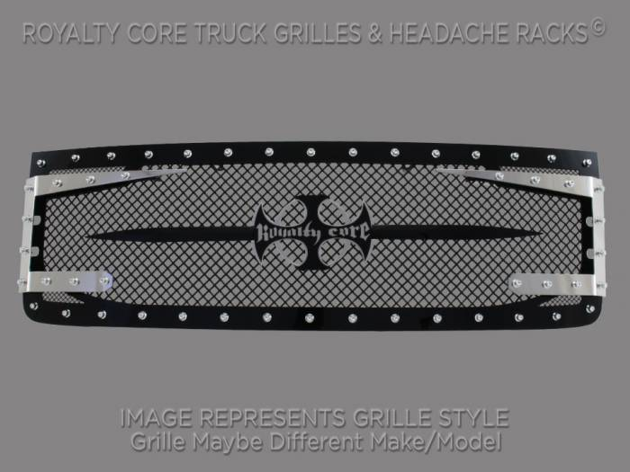 Royalty Core - GMC Sierra HD 2500/3500 2007-2010 RC3DX Innovative Grille