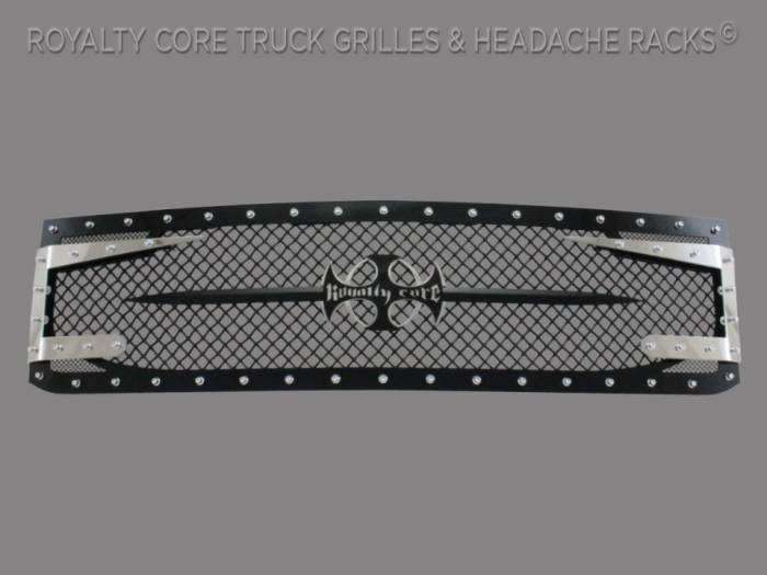 Royalty Core - Chevy 2500/3500 2005-2007 Full Grille Replacement RC3DX Innovative