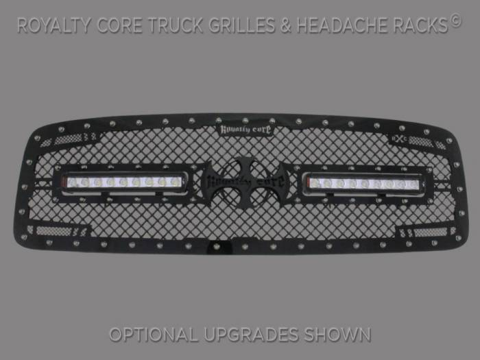 Royalty Core - Dodge Ram 2500/3500/4500 2003-2005 RC2X X-Treme Dual LED Grille