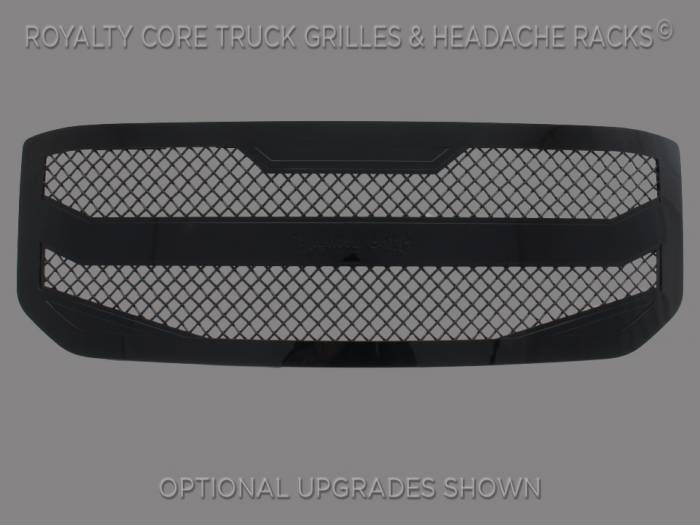 Royalty Core - Royalty Core GMC Yukon HD 2015-2018 RC4 Layered Grille 100% Stainless Steel Truck Grille