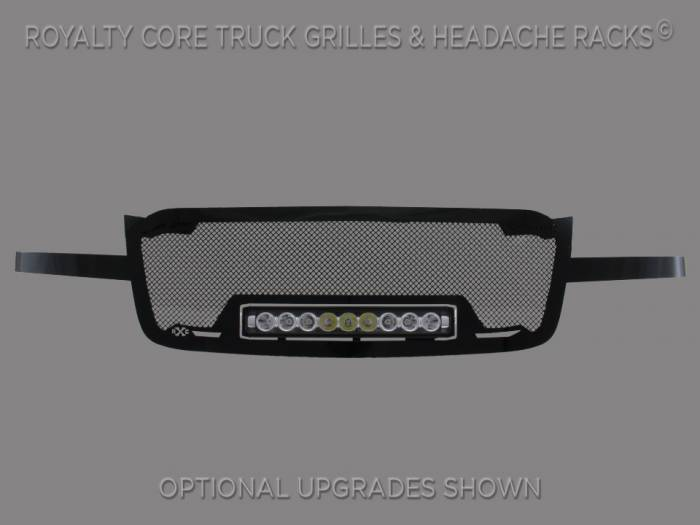 Royalty Core - Chevrolet 1500 2003-2005 Full Grille Replacement RC1X Incredible LED Grille