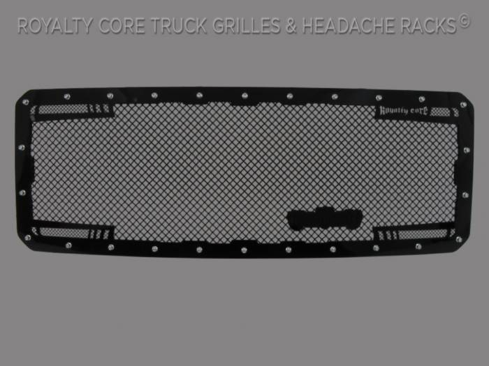 Royalty Core - Ford SuperDuty 2011-2016 New Redesign RC2 Twin Mesh Grille