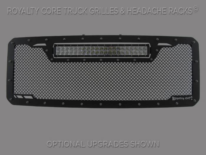 Royalty Core - Ford Super Duty 2011-2016 RCRX LED Race Line Grille-Top Mount LED