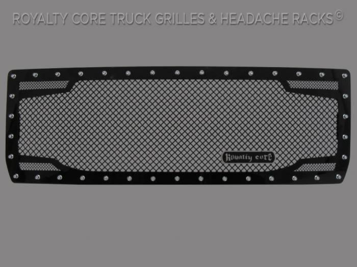 Royalty Core - GMC Sierra 1500, Denali, & All Terrain 2014-2015 RC2 Twin Mesh Grille