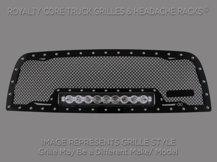 Royalty Core - Chevrolet Suburban, Tahoe, Avalanche 2007-2014 RC1X Incredible LED Grille