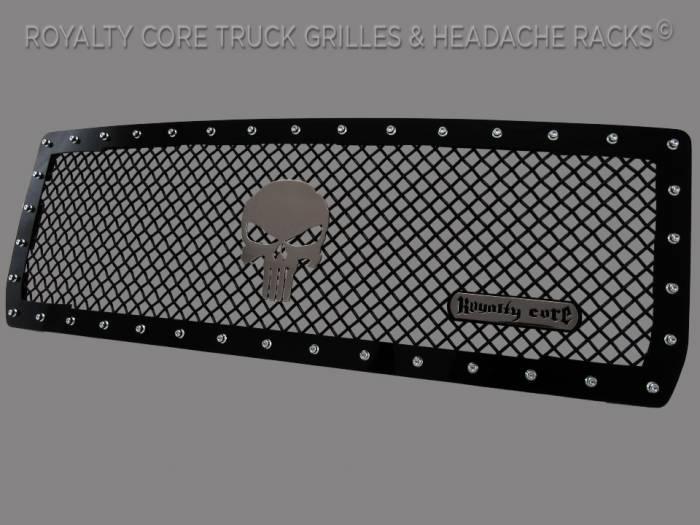 Royalty Core - Punisher Skull Chrome