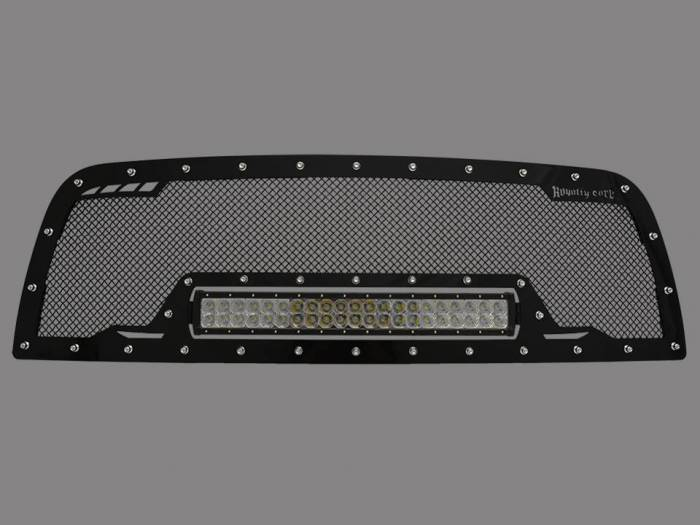 Royalty Core - DODGE RAM 2500/3500/4500 2013-2018 RCRX LED Race Line Grille