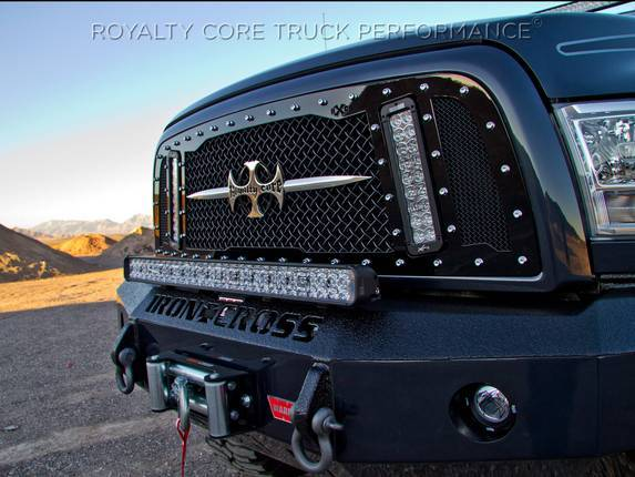 Royalty Core - Dodge Ram 2500/3500/4500 2013-2018 RCX Explosive Dual LED Grille