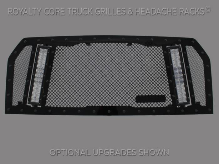Royalty Core - Ford F-150 2015-2017 RCX Explosive Dual LED Full Grille Replacement