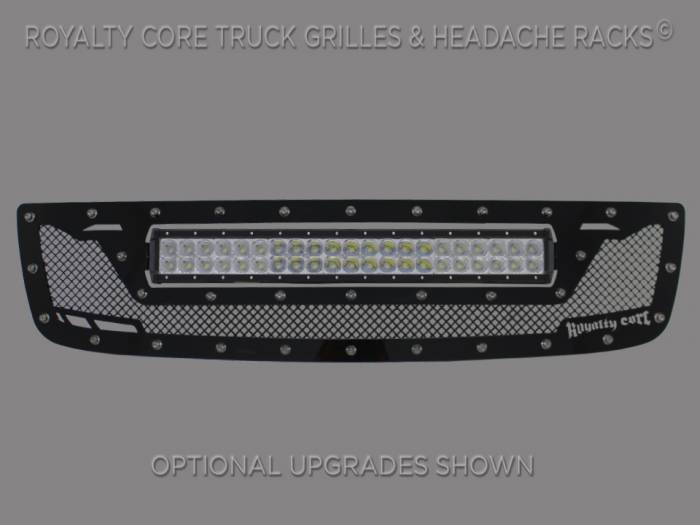 Royalty Core - GMC Sierra HD 2500/3500 2003-2006 RCRX LED Race Line Grille-Top Mount LED