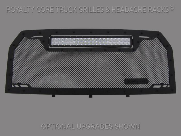 Royalty Core - Ford F-150 2015-2017 RCRX LED Race Line Full Grille Replacement-Top Mount LED