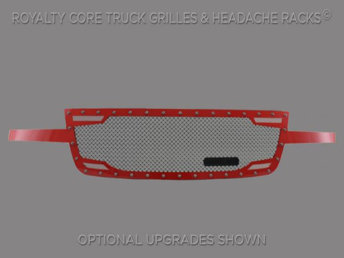 Royalty Core - Chevy 2500/3500 2005-2007 Full Grille Replacement RC2 Twin Mesh Grille
