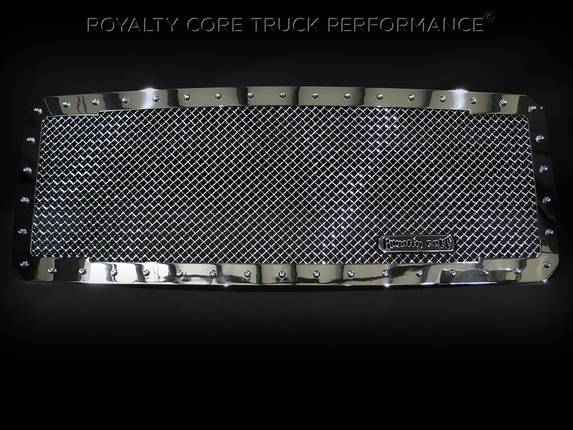 Royalty Core - Ford Super Duty 2017-2019 RC1 Classic Full Grille Replacement Chrome