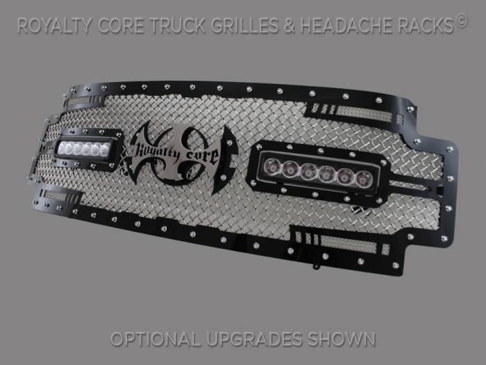 Royalty Core - Ford Super Duty 2017+ RC2X X-Treme Dual LED Full Grille Replacement