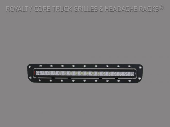 """Royalty Core - Chevy 2500/3500 2011-2014 Bumper Grille with 24"""" LED Light Bar"""