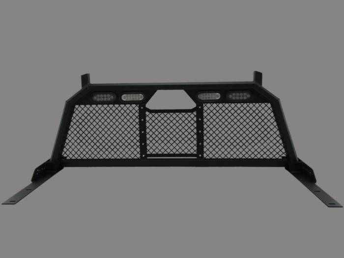 Royalty Core - Chevy/GMC 1500/2500/3500 1999-2007.5 RC88 Headache Rack w/ Integrated Taillights