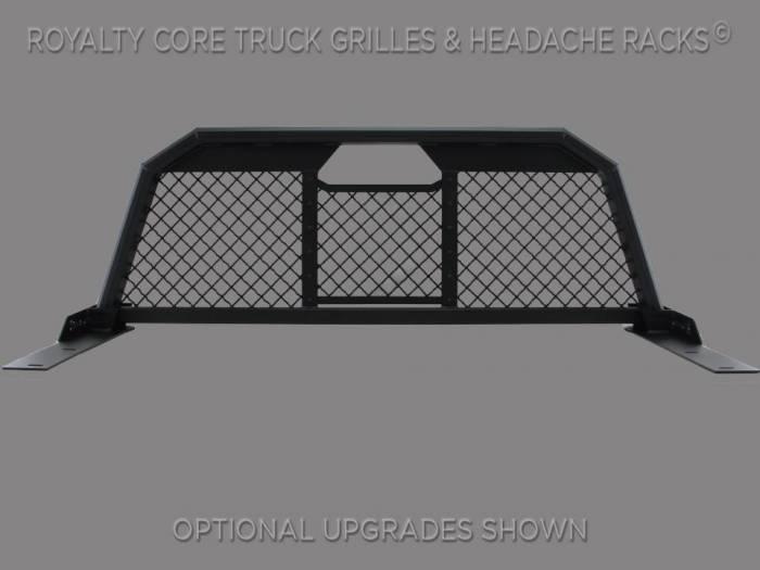 Royalty Core - Chevy/GMC 1500/2500/3500 2007.5-2018 RC88 Billet Headache Rack with Diamond Mesh