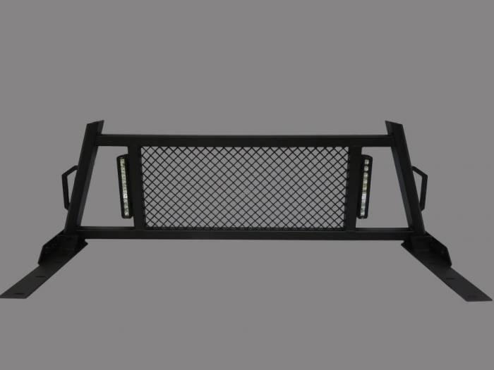 Royalty Core - Chevy/GMC 1500/2500/3500 HD 2007.5-2018 RC88X Headache Rack with LED Light Bars