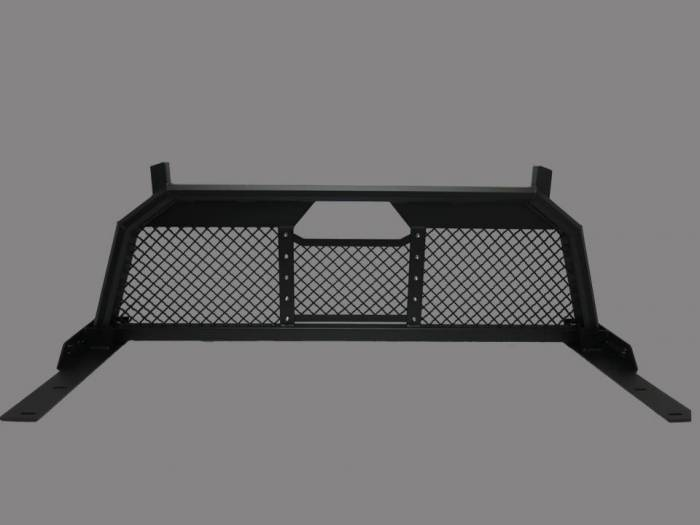 Royalty Core - Dodge 1500 1994-2001 RC88 Ultra Billet Headache Rack with Diamond Mesh