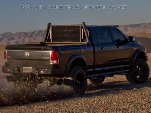 Royalty Core - Dodge Ram 1500 2009-2018 RC88X Ultra Billet Headache Rack with LED Light Bars