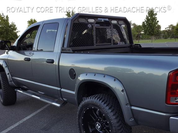 Royalty Core Dodge Ram 2500 3500 2010 2017 Rc88 Billet Headache Rack W