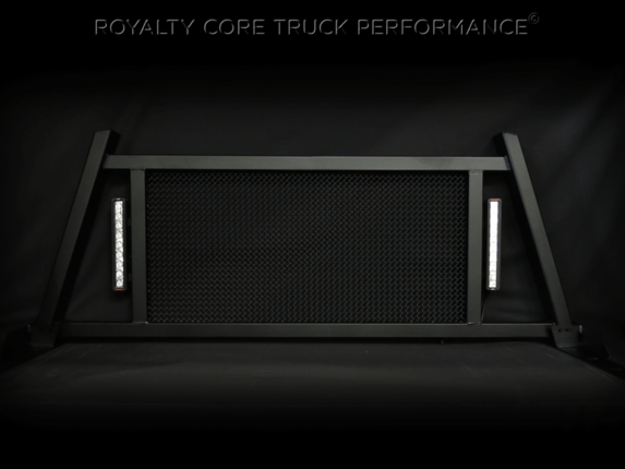 Royalty Core - Ford Superduty F-250 F-350 1999-2010 RC88X Headache Rack with LED Light Bars