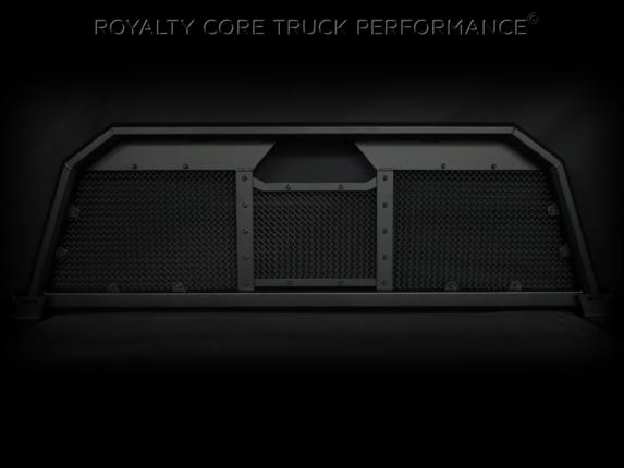 Royalty Core - Toyota Tundra 2007-2017 RC88 Ultra Billet Headache Rack with Diamond Crimp Mesh