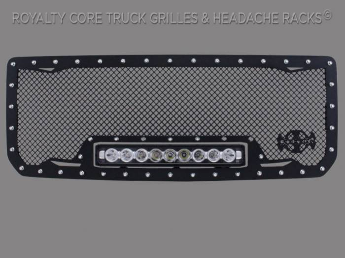 Grandwest - GMC Denali HD 2500/3500 2015-2018 RC1X Incredible LED Grille