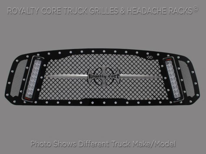 Royalty Core - Chevy 2500/3500 2011-2014 RCX Explosive Dual LED Grille