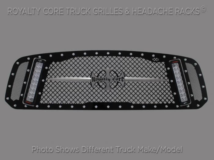 Royalty Core - Chevrolet 1500 2014-2015 RCX Explosive Dual LED Grille(NON Z71)