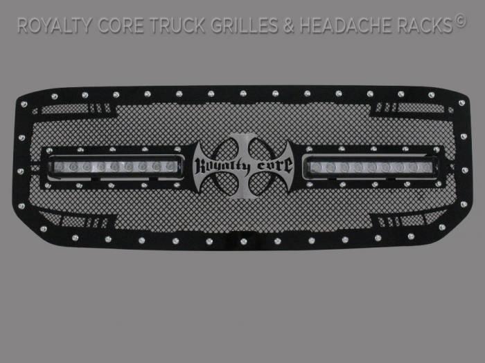 Royalty Core - GMC Sierra 1500, Denali, & All Terrain 2016-2018 RC2X X-Treme Dual LED Grille