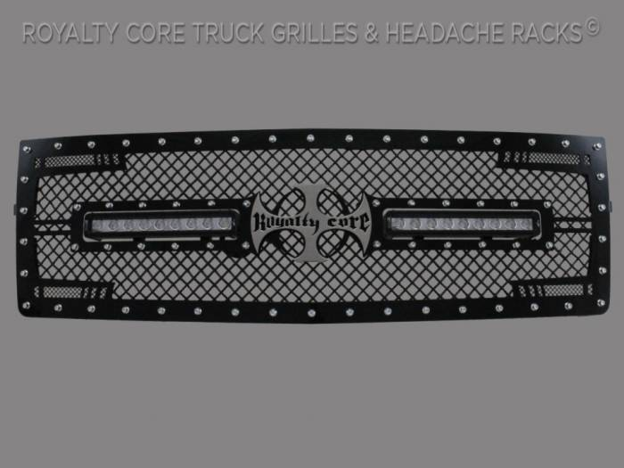 Royalty Core - Chevrolet 1500 2007-2013 RC2X X-Treme Dual LED Grille