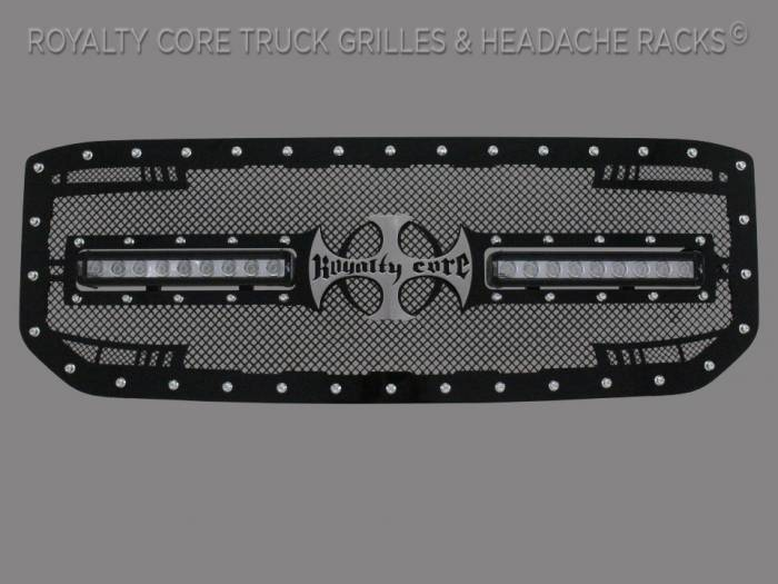 Royalty Core - GMC Sierra 1500, Denali, & All Terrain 2016-2018 RC2X X-Treme Dual LED Grille