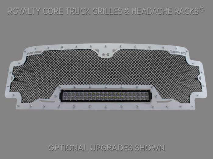Royalty Core - Ford Super Duty 2017-2018 RCRX LED Race Line Full Grille Replacement