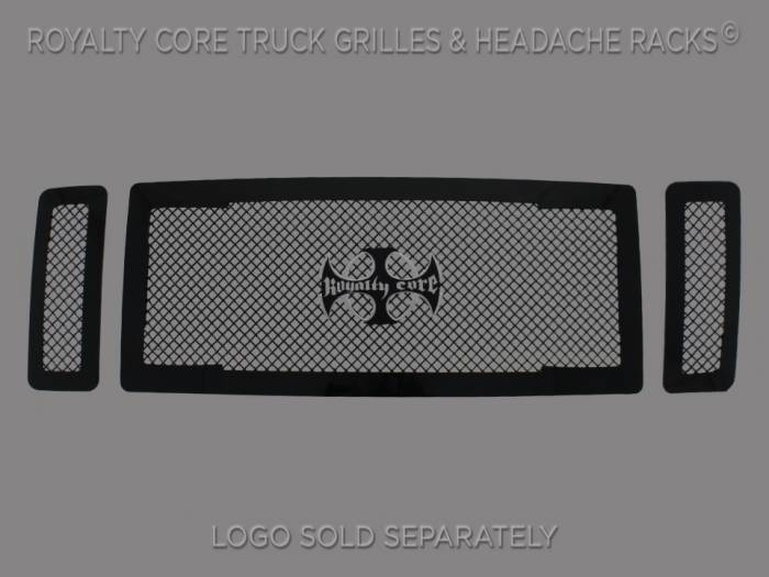 Royalty Core - Ford Super Duty 2008-2010 RC1 Main Grille 3 Piece No Studs-Smooth Look