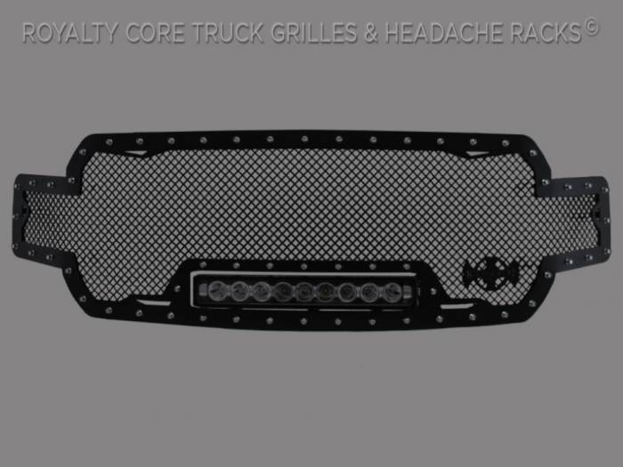 Meyer's - Ford F-150 2018-2019 RC1X Incredible LED Full Grille Replacement-Satin