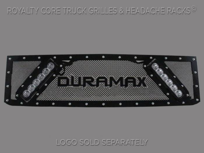 Royalty Core - Chevy 2500/3500 2015-2019 RCX Explosive Dual LED Grille