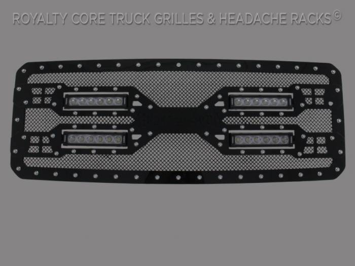 Royalty Core - Ford Super Duty 2011-2016 RC5X Quadrant LED Grille