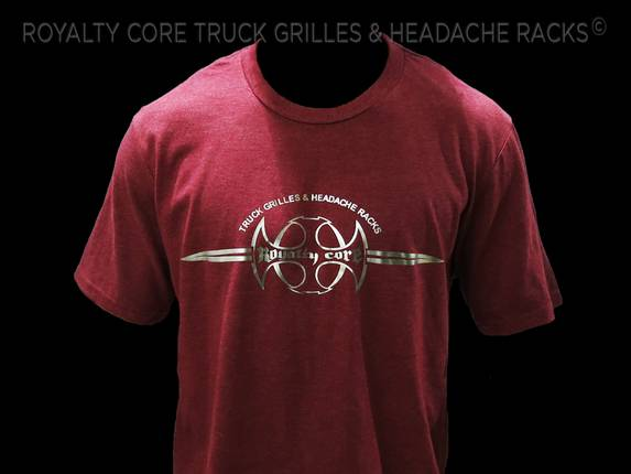 Royalty Core - Royalty Core Branded Red T-Shirt