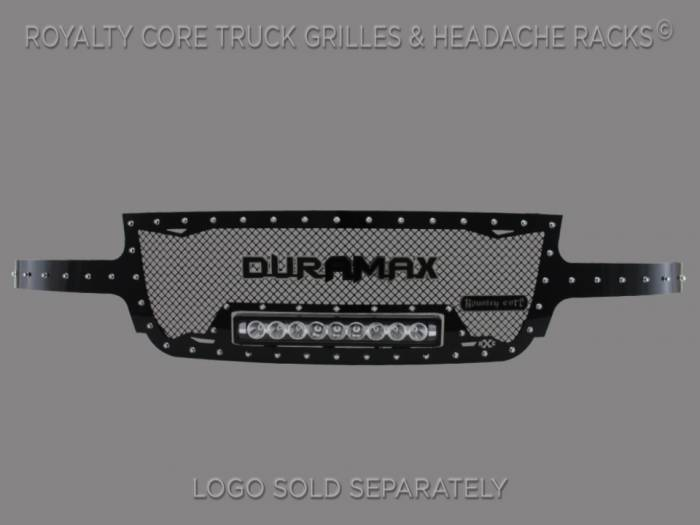 Royalty Core - Chevrolet 2500/3500 1999-2002 Full Grille Replacement RC1X LED Grille