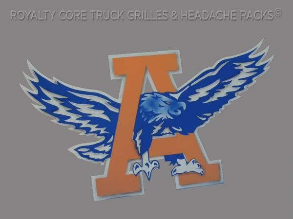 31082 Custom  A and Eagle Logo